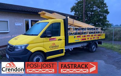 Another FASTRACK Posi-Joist delivery completed 100% On Time In Full this week